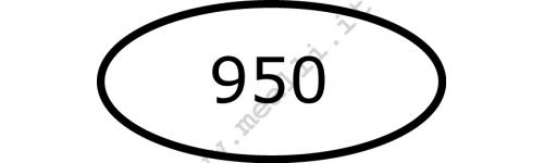 Punzoni per Argento 950